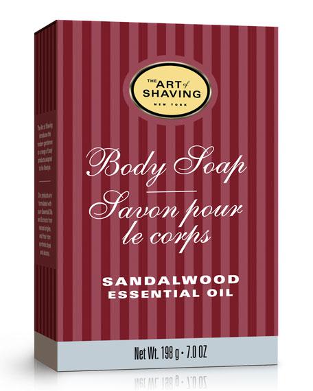 The Art of Shaving Sandalwood Body Soap, 7 oz./ 190 g