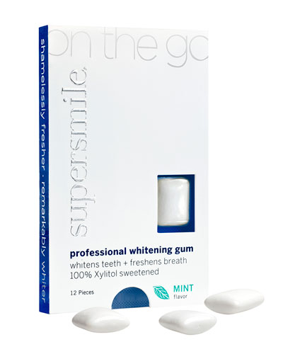 On-The -Go Whitening Gum, 12 Pieces