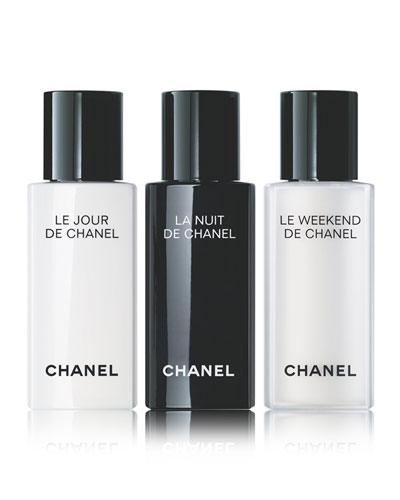 <b>LE JOUR, LA NUIT, LE WEEKEND </b><br>Reactivate, Recharge, Renew, 3 x 0.5 oz.