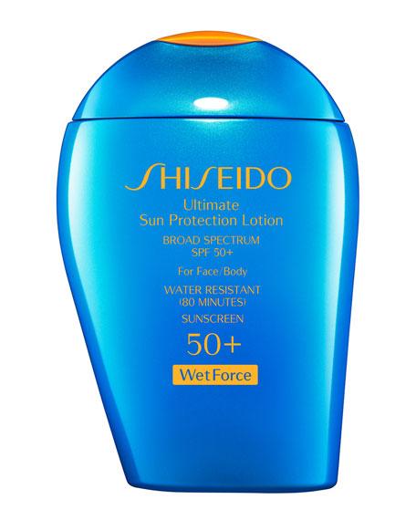 Shiseido Ultimate Sun Protection Lotion SPF 50+ WetForce,