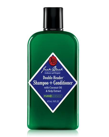 Double-Header Shampoo+Conditioner, 16 oz.