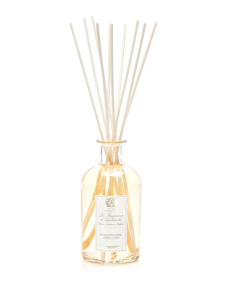 Damascena Rose, Orris & Oud Home Ambiance Diffuser, 17 oz./ 500 mL