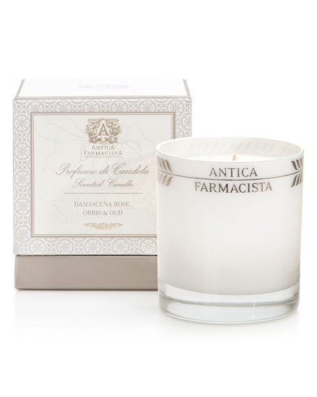 Antica FarmacistaDamascena Rose, Orris & Oud Round Scented