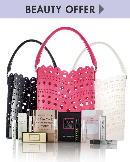 Neiman Marcus Yours with any $100 Fragrance or Cosmetic purchase
