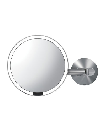 "8"" Wall Mount Sensor Makeup Mirror"