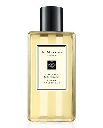 Lime Basil & Mandarin Bath Oil, 8.5 oz.