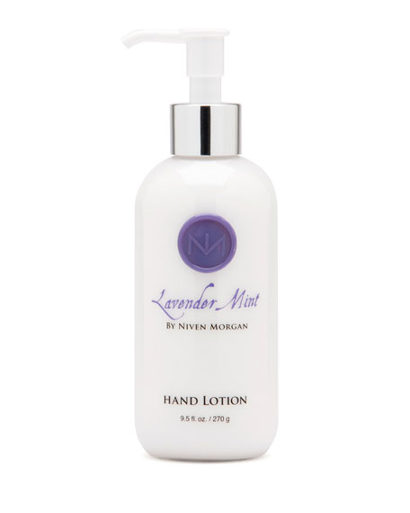 Niven Morgan Lavender Mint Hand Lotion, 9.5 oz.