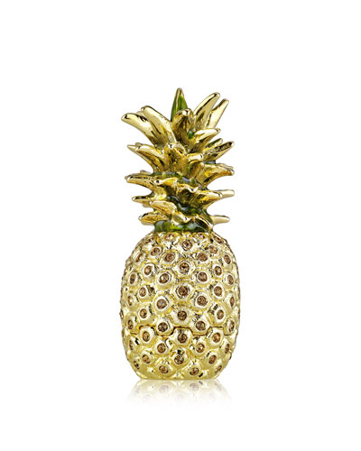 Limited Edition Beautiful Golden Pineapple Solid Perfume