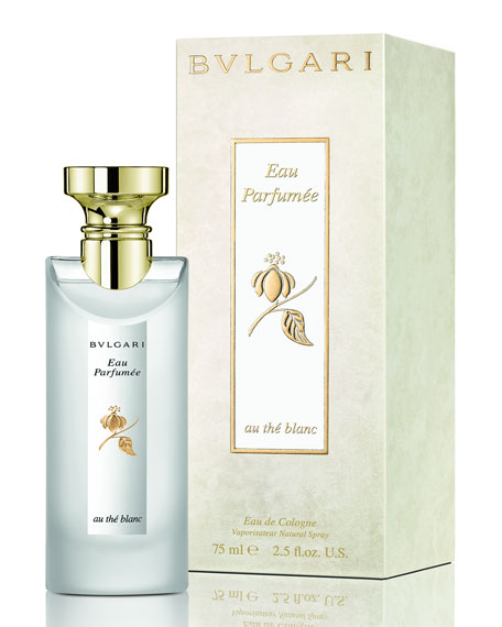 Image 2 of 2: BVLGARI 2.5 oz. Eau Parfumee Au The Blanc Eau de Cologne Spray