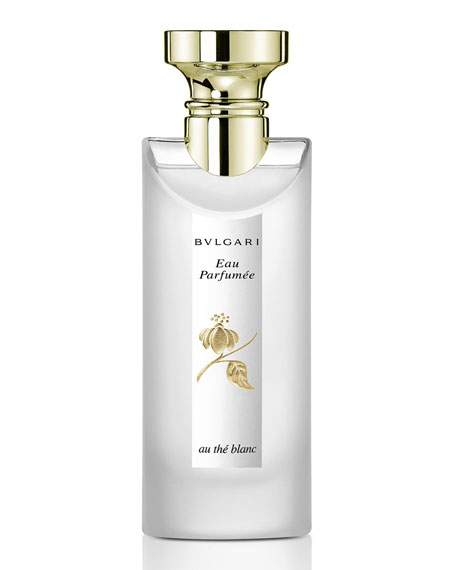 Image 1 of 2: BVLGARI 2.5 oz. Eau Parfumee Au The Blanc Eau de Cologne Spray