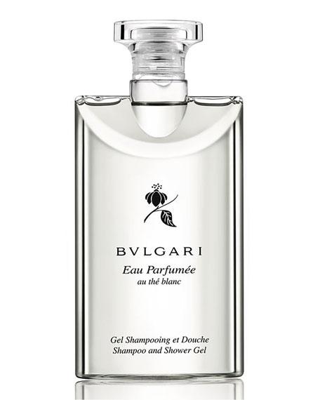 BVLGARI Eau Parfumée Au Thé Blanc Shampoo and Shower Gel, 6.8 oz.
