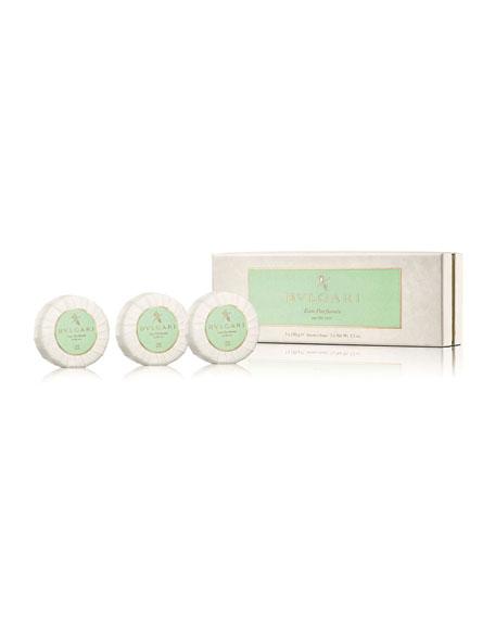 BVLGARI Eau Parfumée Au Thé Vert Soap Set, 3 x 150 g