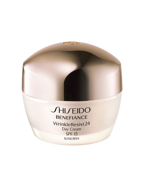 Shiseido WrinkleResist24 Day Cream, 50 mL.