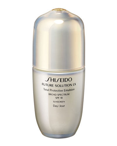 Future Solution LX Total Protective Emulsion SPF 18, 2.54 oz.