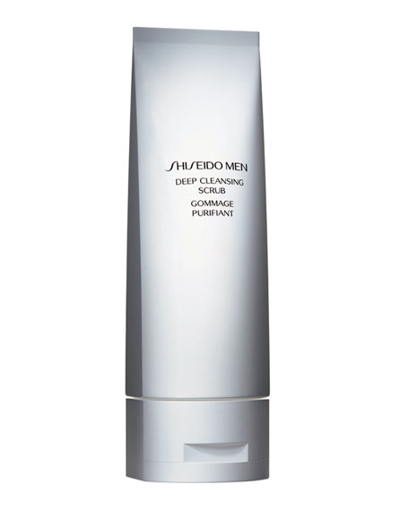 ShiseidoMen's Deep Cleansing Scrub 4.5 oz