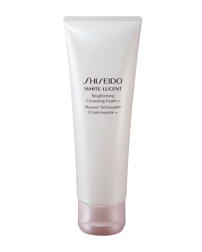 White Lucent Brightening Cleansing Foam, 4.7 oz.