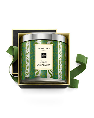 Scent of the Season Deluxe Candle - Roasted Chestnut, 21.1 oz