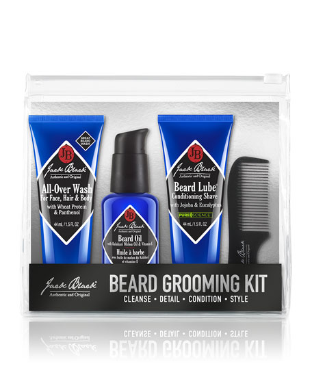 jack black beard grooming kit. Black Bedroom Furniture Sets. Home Design Ideas