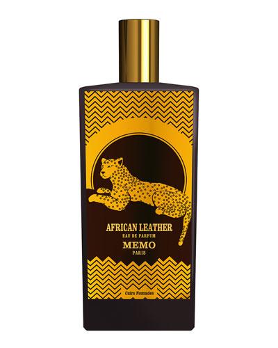 African Leather Eau de parfum, 2.5 oz./ 75 mL