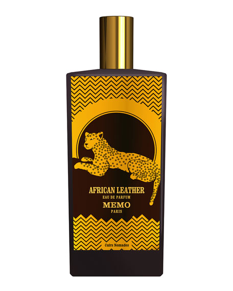 Memo Paris African Leather Eau de parfum, 2.5