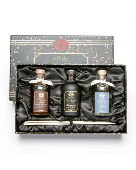 Antica Farmacista Trio Champagne, Santorini, Vanilla, Bourbon and