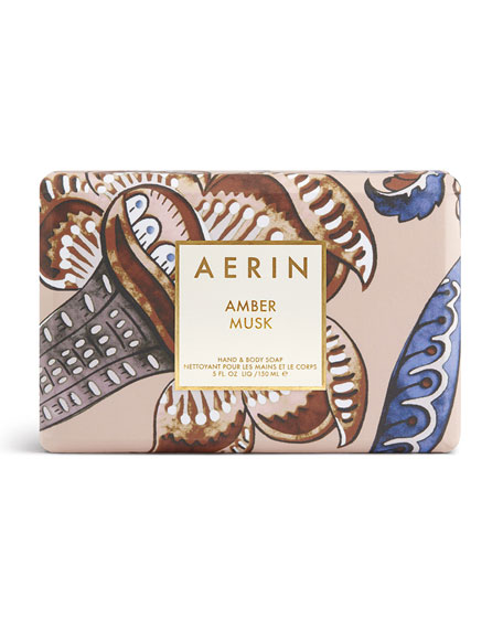 Limited Edition Amber Musk Soap Bar