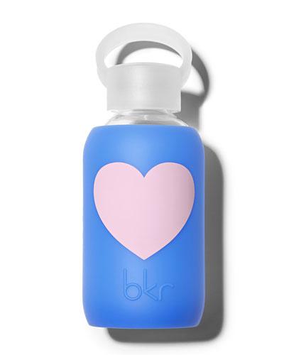 Glass Water Bottle, Romeo Heart, 250 mL