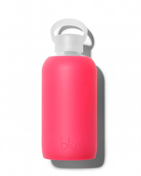 bkr Glass Water Bottle, Bisous, 500 mL