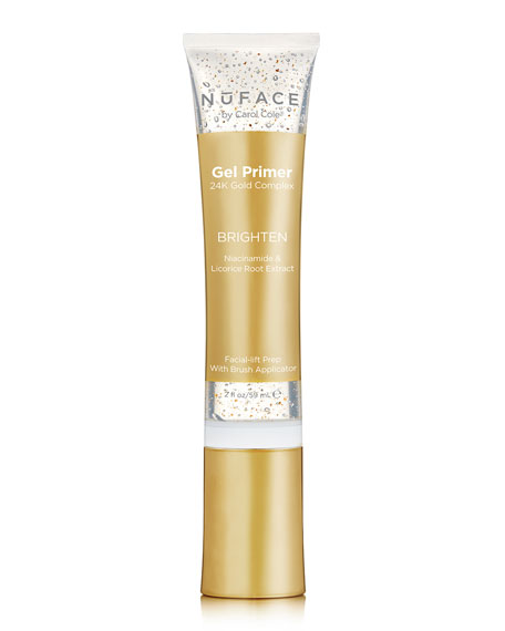 NuFace 24K Gold Gel Primer - Brighten, 2.0