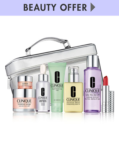 Yours for $49.50 with any $27 Clinique purchase ($180 Value)—Online only*