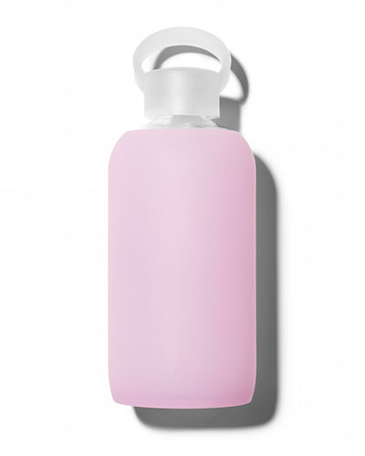 Glass Water Bottle, Cupcake, 500 mL