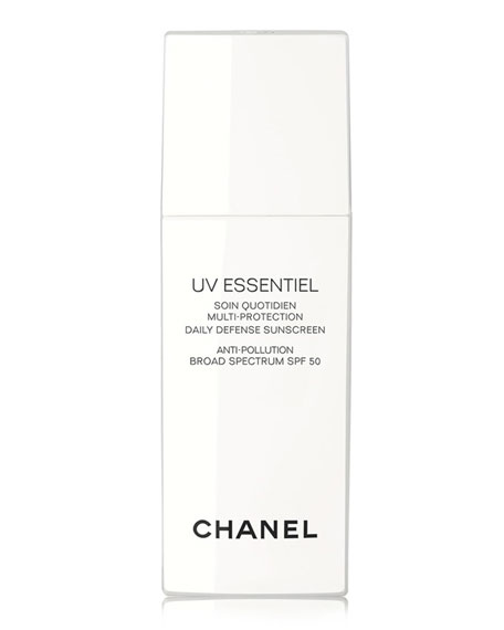 <B>UV ESSENTIEL</b><BR> Multi-Protection Daily Defense Sunscreen Anti-Pollution Broad Spectrum SPF 50, 1.0 oz.