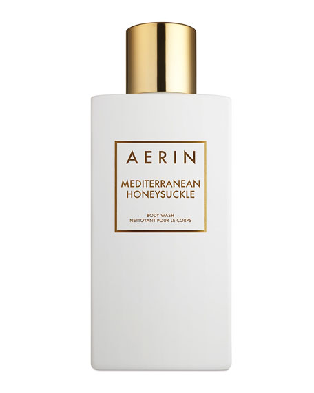 AERIN Limited Edition Mediterranean Honeysuckle Body Wash, 0.3