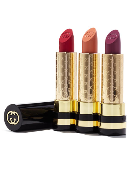 Limited Edition Gucci Luxurious Moisture-Rich Lipstick - Spring/Summer Color Collection