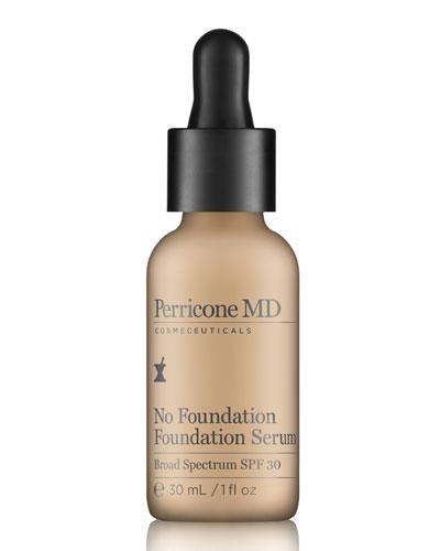 No Foundation Foundation Serum SPF 30  1.0 oz.