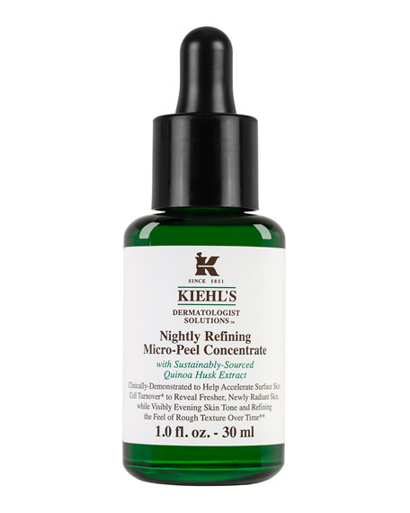 Kiehl's Since 1851 Dermatologist Solutions™ Nightly Refining Micro-Peel Concentrate, 1.0 oz.