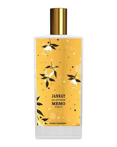 Jannat Eau de Parfum, 2.5 oz./ 75 mL