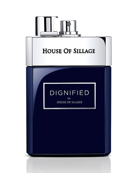 House of Sillage Signature Collection Dignified Fragrance for Men, 2.5 oz./ 75 mL