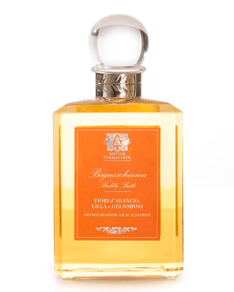 Antica Farmacista Orange Blossom, Lilac & Jasmine Bubble Bath, 15.8 oz./ 473 mL