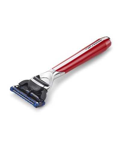 Morris Park Collection Razor, Red