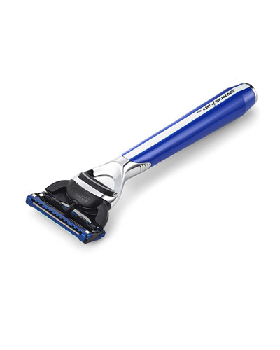 Morris Park Collection Razor, Blue