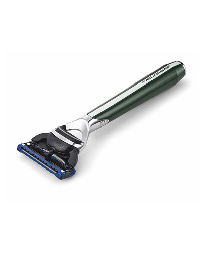 Morris Park Collection Razor, Green