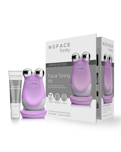 NuFace Trinity Facial Toning Kit, Lilac Bloom