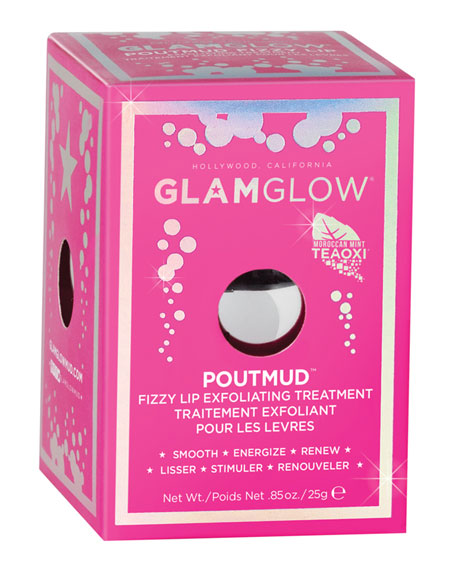 POUTMUD Fizzy Lip Exfoliating Treatment, .88 oz./ 26 mL