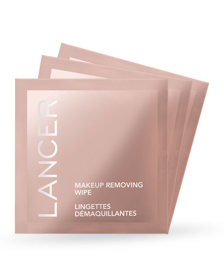 Lancer Makeup Removing Wipes, 30 Count
