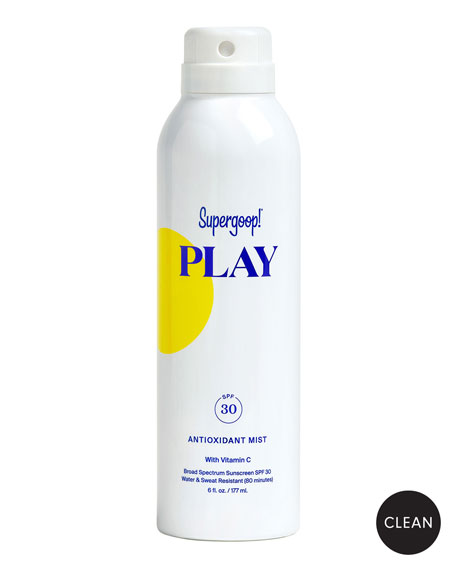 Supergoop! Antioxidant-Infused Sunscreen Mist with Vitamin C SPF