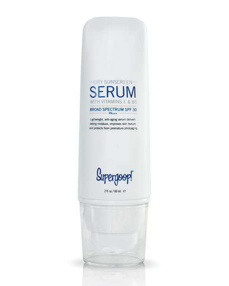 Supergoop! City Sunscreen Serum SPF 30, 2 oz.