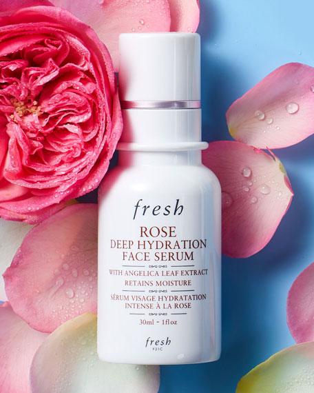 Fresh Rose Deep Hydration Face Serum, 1.0 oz.