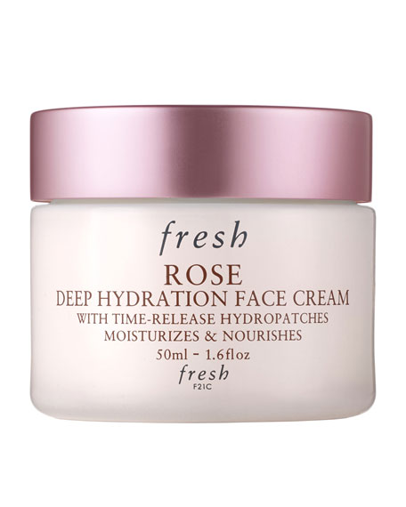 Fresh Rose Deep Hydration Face Cream, 1.6 oz.