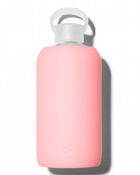 bkr Glass Water Bottle, Elle, 1L and Matching